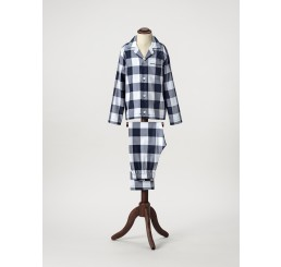 Bluecheck pajamas