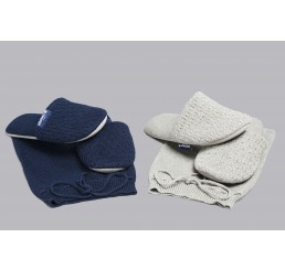 Hastens Slippers—Adult—Gray LARGE
