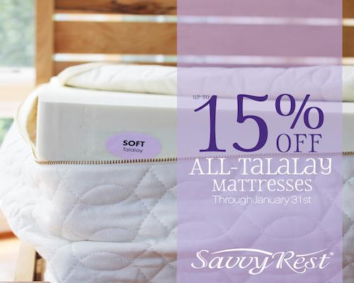 Savvy Rest Latex Mattress Sale